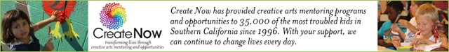 create now provides arts mentoring programs